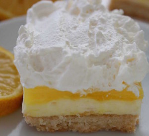Delicious and easy lemon squares recipe