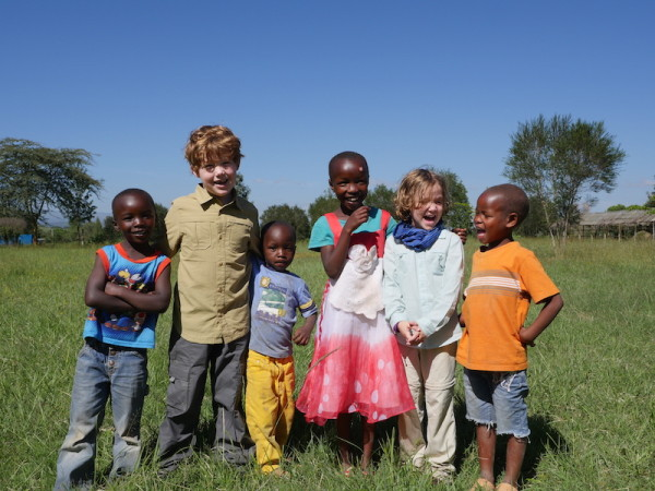 planning a safari to Kenya with kids