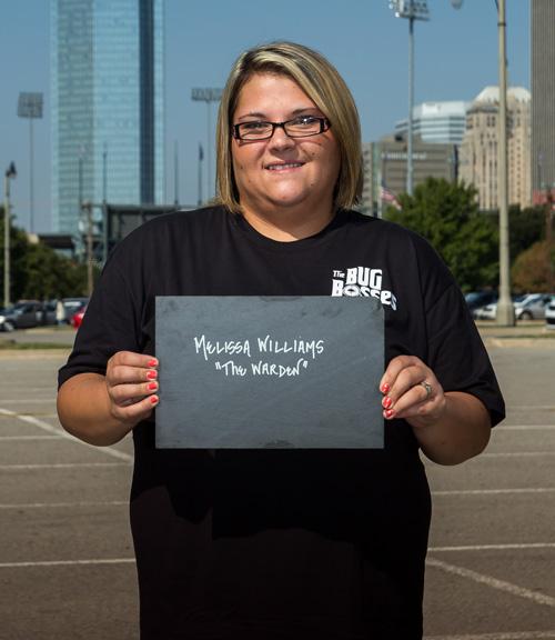 Melissa 'The Warden' Williams
