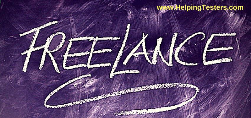 Freelancing, Freelance, Freelance tester