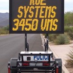 fast-3450 variable message sign