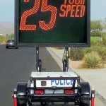 fast-3450 variable message sign speed display