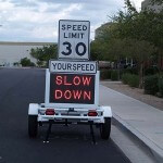 Fast-820 radar speed display signs
