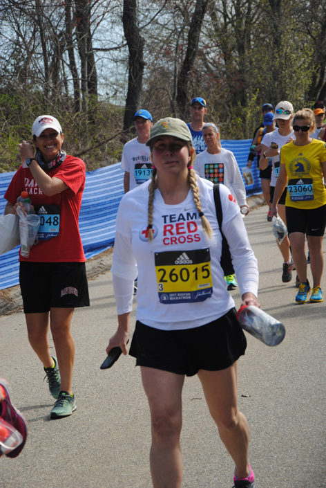 Vanessa O'Brien Boston Marathon 2017