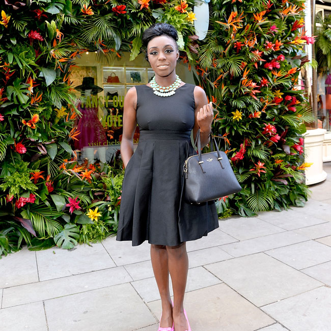 Laura Mvula Loves Classic Kate Spade Designs