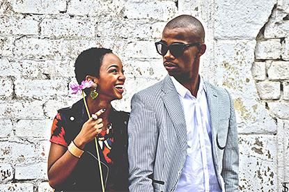 Zakes and Nandi Mngoma