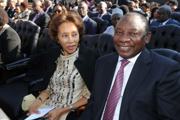 Cyril Ramaphosa & Dr. Tshepo Motsepe