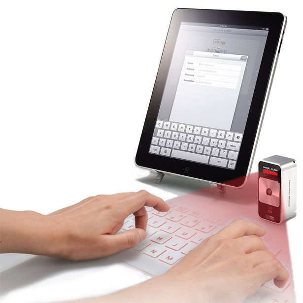 Magic Cube Laser Virtual Projection Keyboard