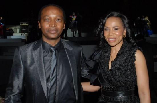 Patrice Motsepe and Precious Motssepe