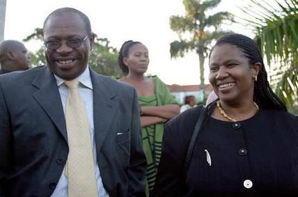 Phumzile Mlambo-Ngcuka and Bulelani Ngcuka