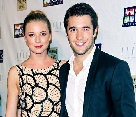 Josh Bowman and Emily Van Camp