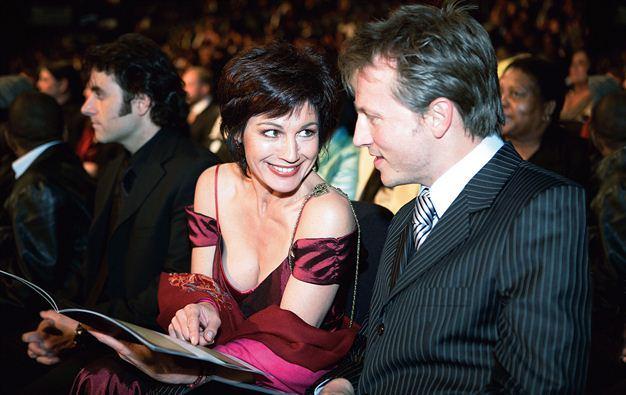 Len Cooper and Cherel de Villiers