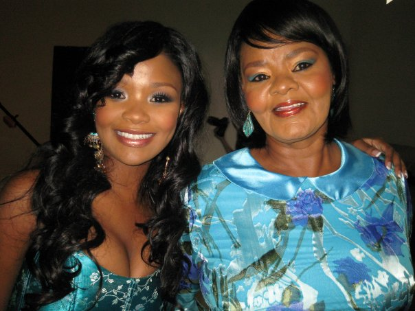 Nonhle and her mother