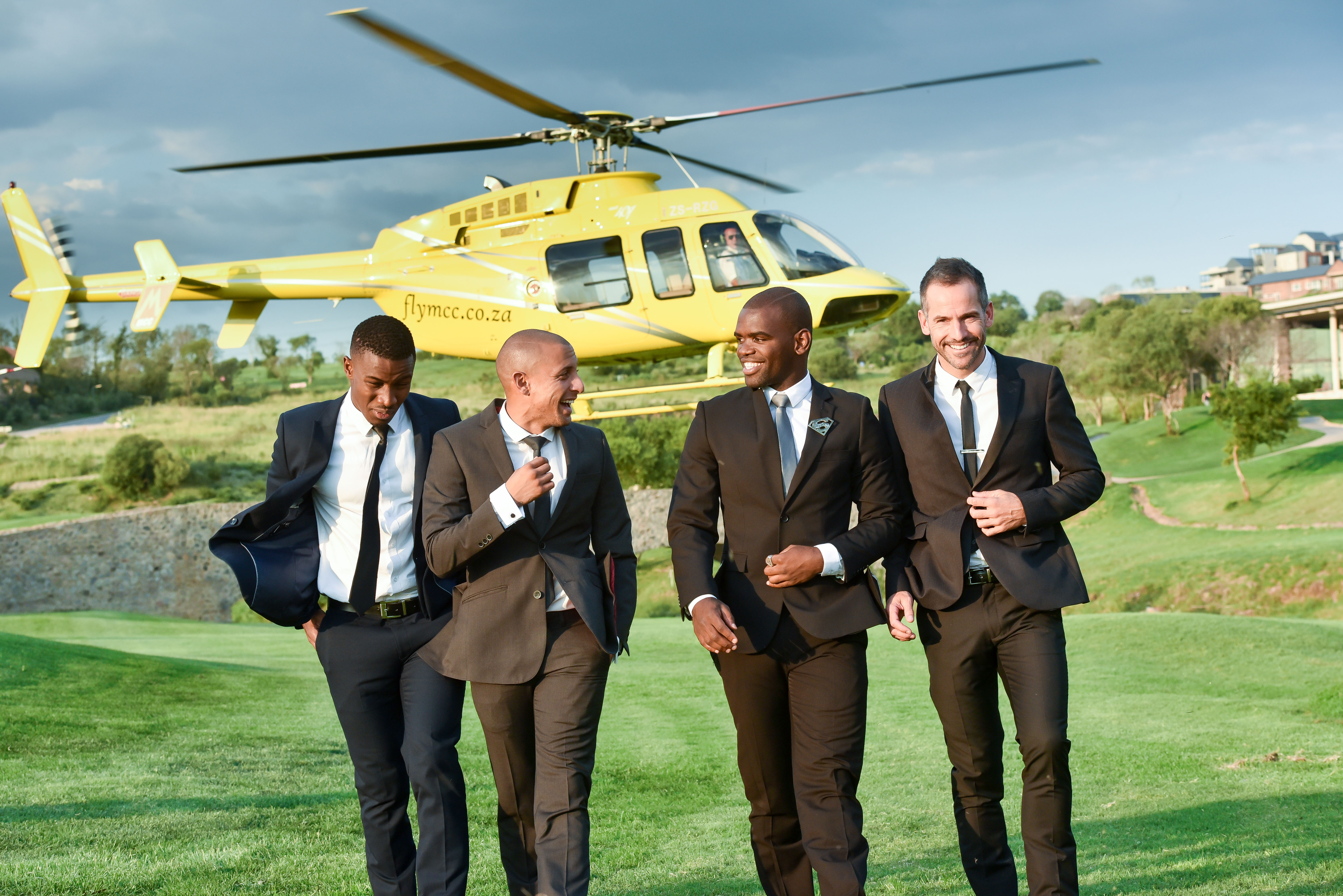 Photo of Catching Up With The Man Cave Presenters- Lunga Shabalala, Janez Vermeiren & Siv Ngezi