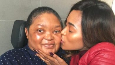 Photo of Motsoaledi Setumo Mourns The Loss Of Her Mother