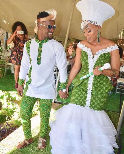 Top 5 SA Celebs Most Beautiful Traditional Weddings Of