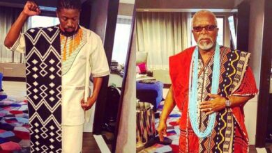 Photo of Atandwa Gushes Over His Father DR John Kani Receiving An Honorary Doctorate