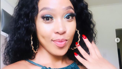 Photo of Simphiwe Ngema Gifts Herself A Promise Ring