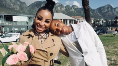 Photo of Check Out Lasizwe's Request To Khanyi Mbau After She Edited Their Picture
