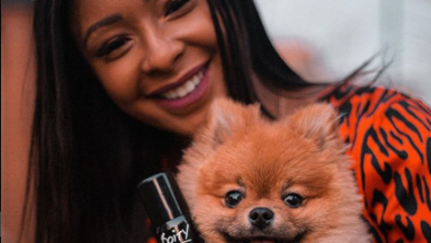 Photo of From Expensive Spas To Instagram Pages, Check Out How These SA Celebs Pamper Their Pets