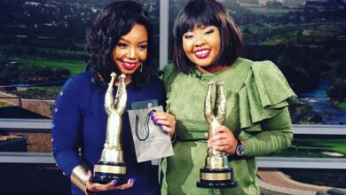 Photo of Sisters Anele and Thembisa Up Against Each Other #SAFTAs14