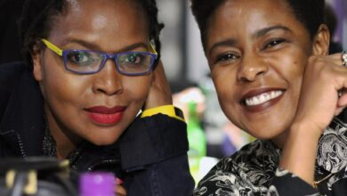 Photo of Sisterhood! Florence Masebe and Ferry Jele Show Each Other Some Love