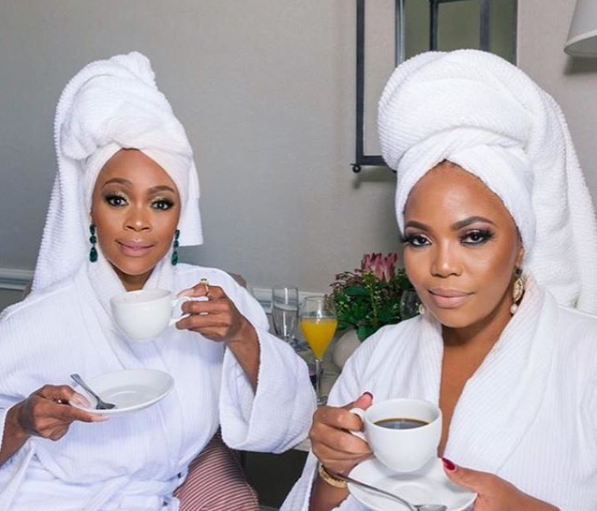 Terry Pheto's Celeb Friends Shower Her With Beautiful