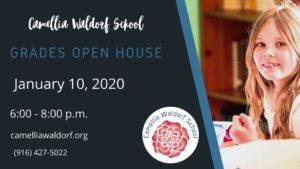 Grades & Homeschool Open House