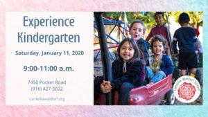 Experience Kindergarten