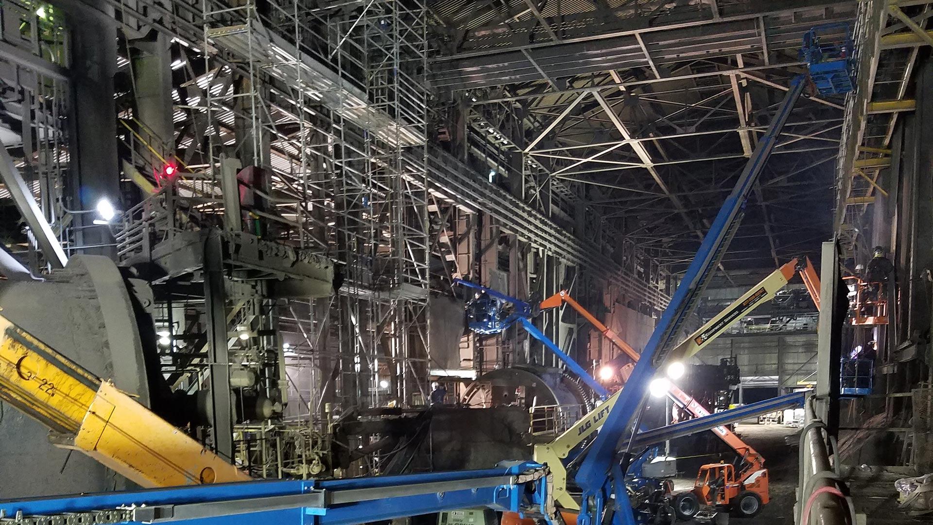FMI-Smelter-Converter-Aisle