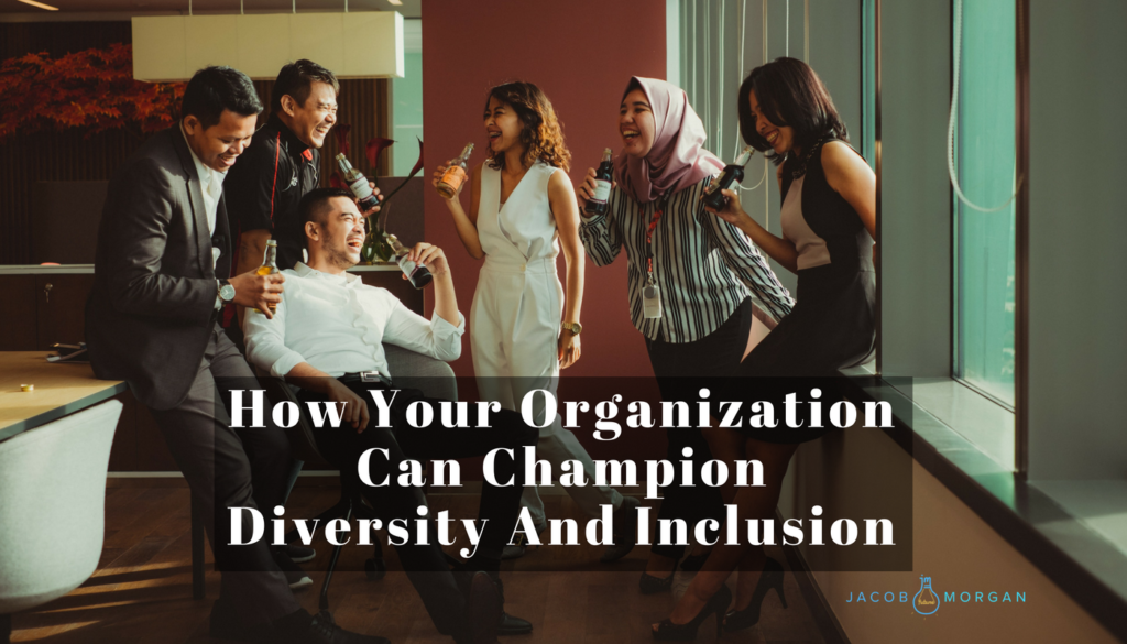 diversity inclusion leadership employee experience