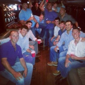 boys night out bay limo