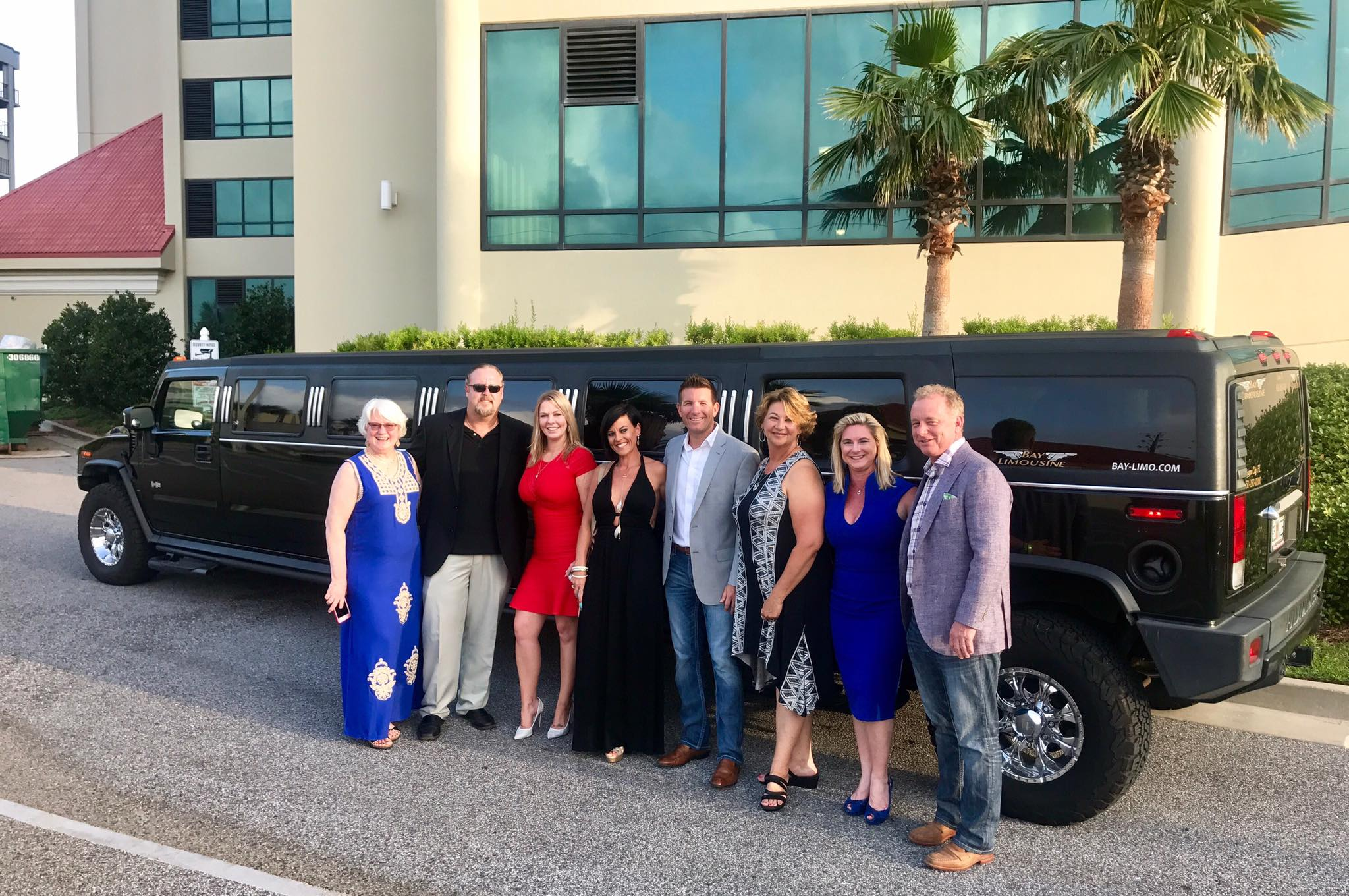 birthday limo celebration