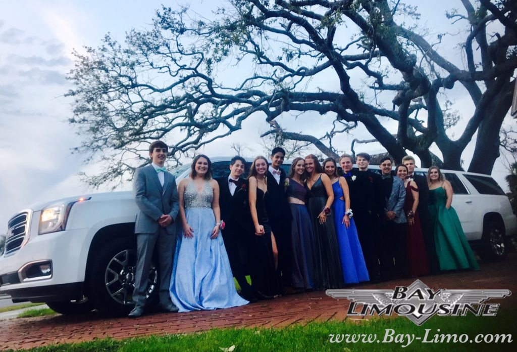 prom limo service bay limo