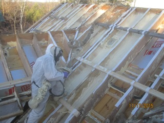 Close Cell Spray Foam_Insulation_Foam USA_New roof spray foam_Gaco Onepass spray foam