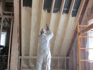 vent roof-close cell spray foam-insulation