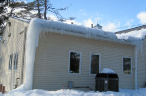 ice damming roof insulation