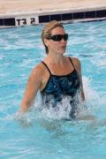 fat burning water workout