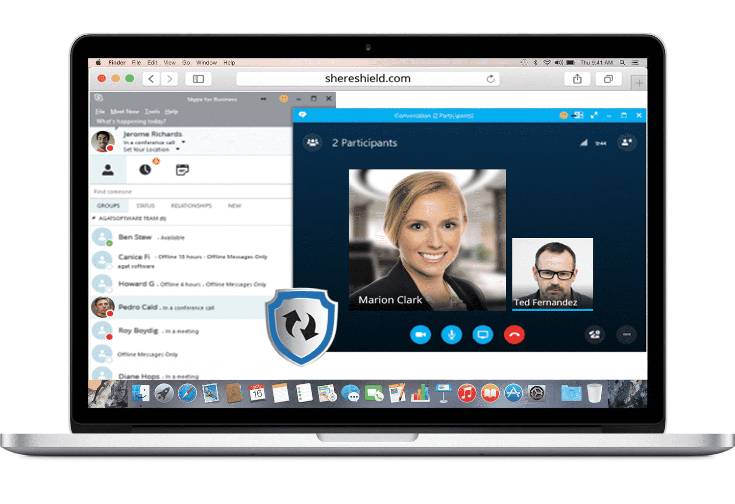 Skype for Business Online Security