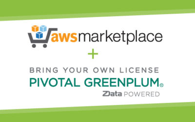 Bring Your Own License (BYOL) Pivotal Greenplum® is now available on the AWS Marketplace