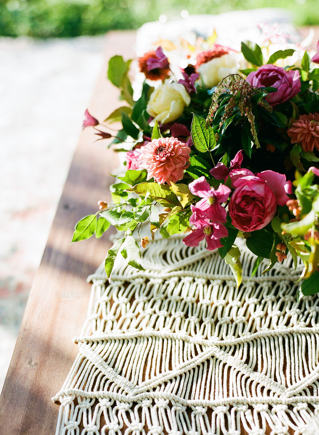 Bohemian Proposal Inspiration Shoot  Featured on 100 Layer Cake