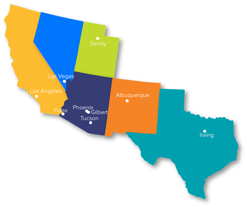 CEI Locations Map