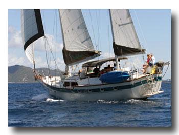 Chartering in the Spanish Virgin Islands