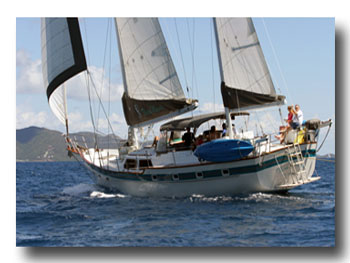 Chartering in the Spanish Virgin Islands