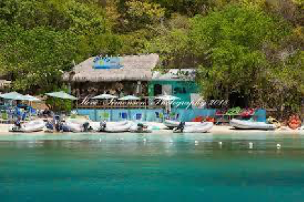 Dingy's Beach Bar and Grill, Water Island, USVI
