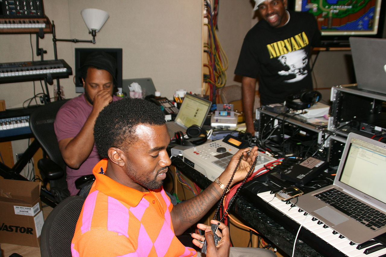 Kanye West producing