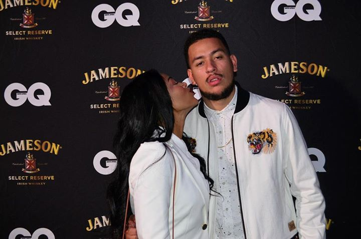 Pics! AKA And DJ Zinhle Spotted Getting Cozy At A Club