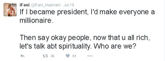 ani for president