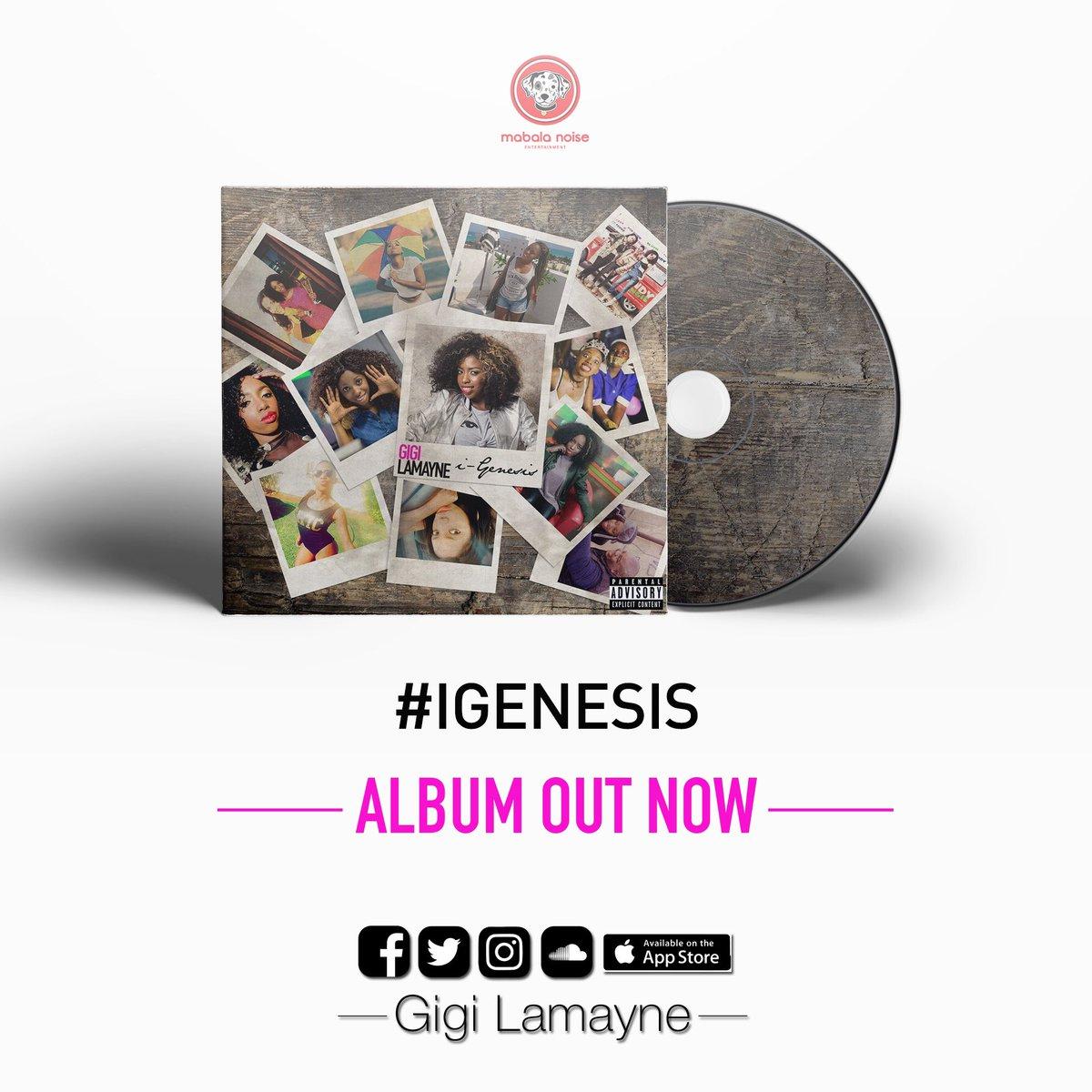 Stream & Download Gigi Lamayne's iGenesis Album