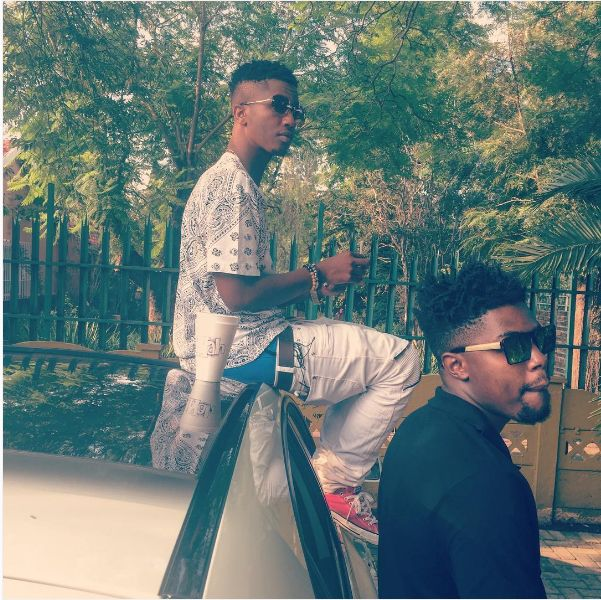 Emtee Shares Behind The Scenes Pics Of His African Trap Documentary